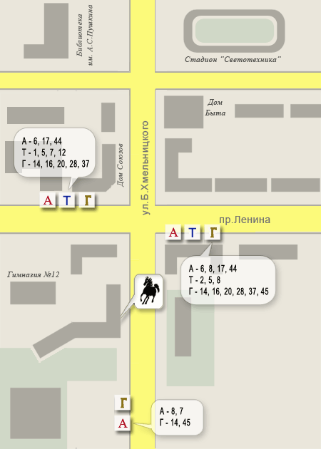 маршрутное такси (Газель) № 37